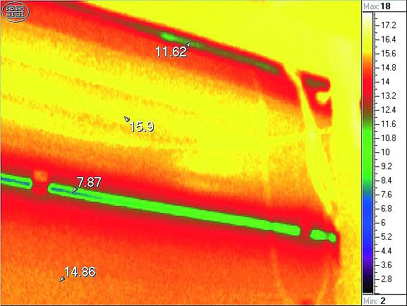 изображение с тепловизора