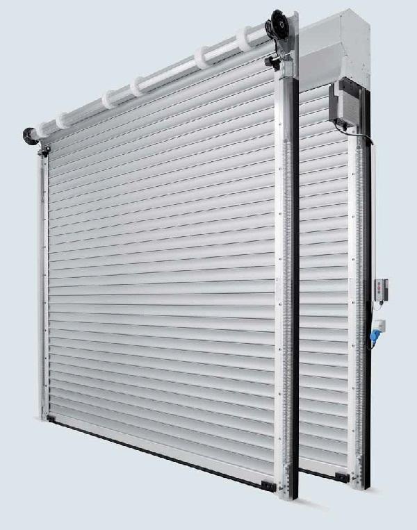 Рулонные ворота с ручным управлением или опционально с приводом WA 300 R S4