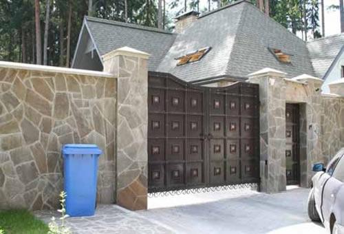 ворота распашные ворота