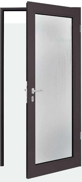 AZ-40: Алюминиевая внутренняя дверь