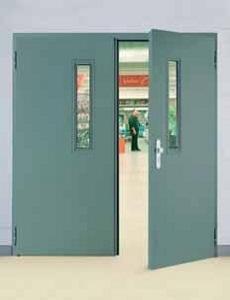 E45 - 2: Стальная дверь