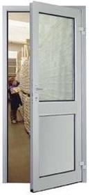 Алюминиевая дверь MZA